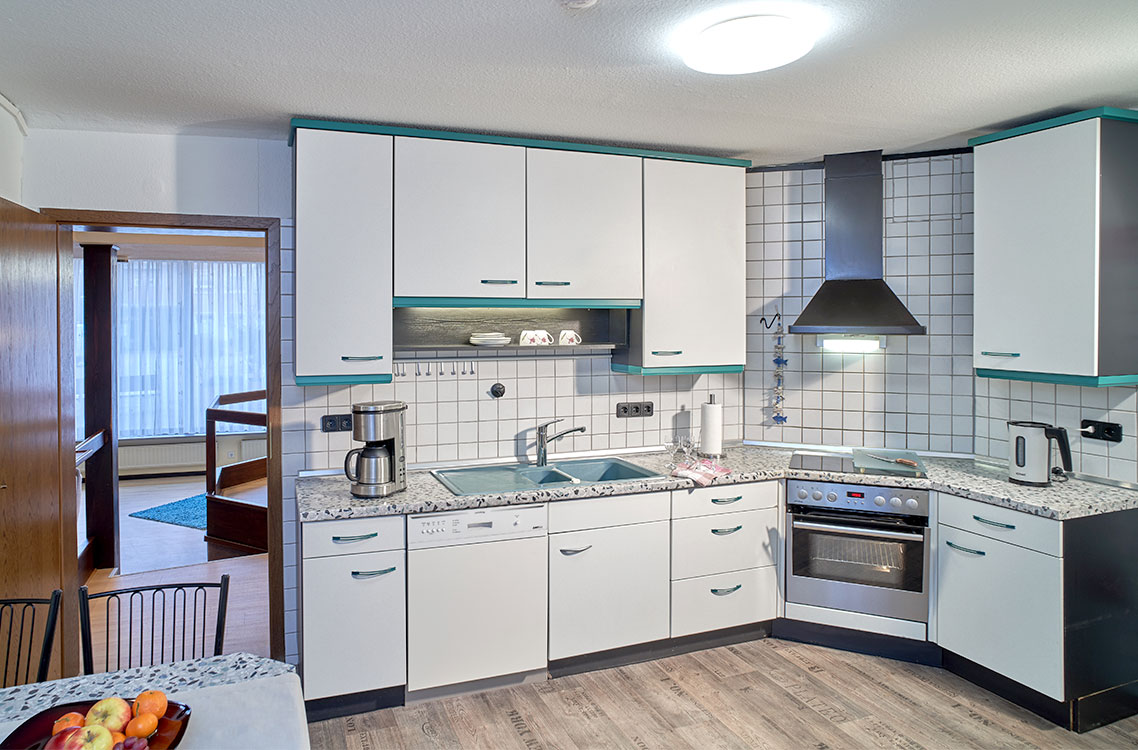 Hotel Am Goetheplatz - Ferienwohnung Küche Mit Komplettausstattung
