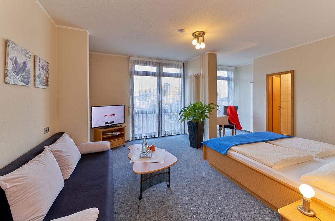 Hotel am Goetheplatz - Beispiel eines Doppelzimmers